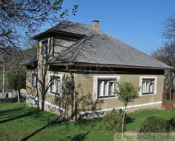 Priestranný dom na okraji obce Nižná Slaná