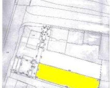 GARANT REAL - predaj  pozemok vhodný na bytový dom, 901 m2, Prešov, Nižná Šebastová