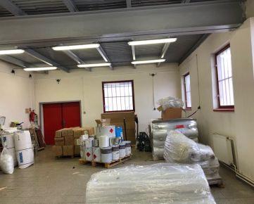 Ponúkame na prenájom priemyselnú budovu – dve haly v Prešove, v dobrej lokalite ŠIRPO