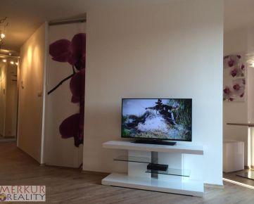 Ponúkame na prenájom luxusný 2 izbový byt(42 m2) v j novostavbe v projekte MODRÁ GUĽA na Suchom mýte