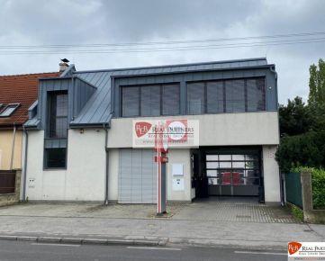 REB. sk Budova zabehnutého autoservisu na prenájom - Bratislava III