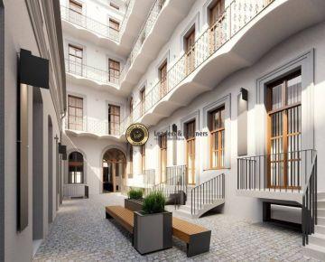 Nový bytový projekt, 3+kk, po celkové rekonstrukci, Praha 1