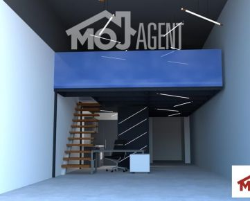 Na prenájom nový obchodný priestor, 82m2, 2x parking, novostavba Matadorka, Petržalka