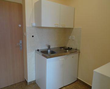 385,- Eur pre 2 osoby vrátane spotreby E, služieb a internetu! Zariadený menší 1-izb. byt, 26 m², v novostavbe na Trnavskej ceste v Ružinove
