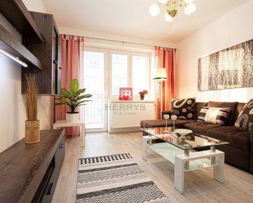Herrys - Na prenájom luxusný, priestranný 2 izbový byt v novostavbe s vlastnou garážou