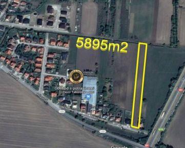 Na predaj 5895m2 na bytovú a RD zástavbu Veľké Orvište, PN