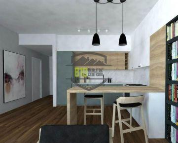 centrum: investičný 1i byt, parkovanie