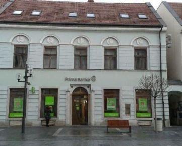 Atraktívne obchodné priestory v centre Trnavy