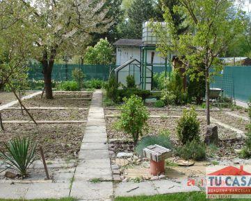 Sereď, predáme záhradku v záhradkárskej oblasti pod Hrádzou o výmere 250 m2