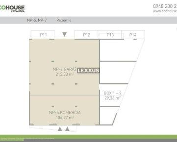 LEXXUS-PREDAJ, komerčné priestory 318,60 m2, Ecohouse, BA II