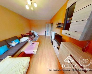PREDANÉ - Slnečný 3-izbový byt s balkónom na predaj Starý Juh