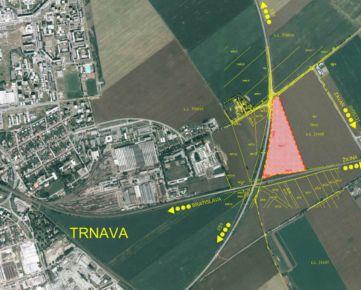 NEO - atraktivne stavebne pozemky Trnava - obchvat