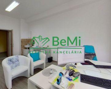BeMi reality Vám EXKLUZÍVNE ponúka na prenájom kancelárske priestory na Volgogradskej ulici v Prešove.