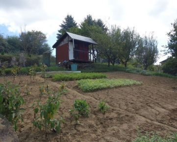 Záhradná chatka so 437 m2 pozemkom v Trenčíne časť Chrášť