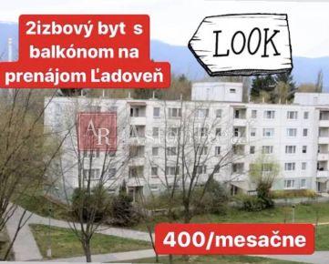 Prenájom: 2izbový byt Martin časť Ľadoveň s balkónom