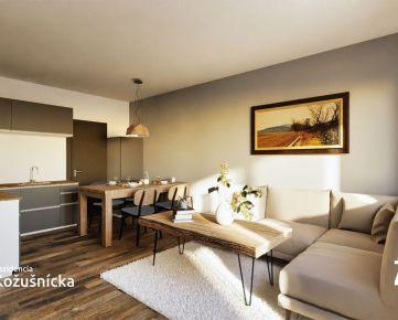 NA PREDAJ   2 izbový byt 50m2 + balkón, 3np. Rezidencia Kožušnícka / byt A16