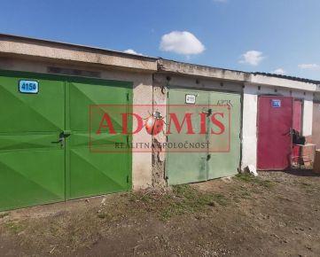 ADOMIS - Predám garáž 18m2, dobrá lokalita, Čárskeho ulica- Košice.
