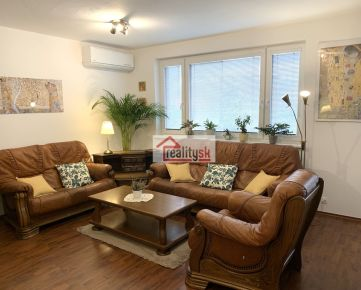 Prenájom - kompletne zariadený veľký 3-izbový byt v DNV