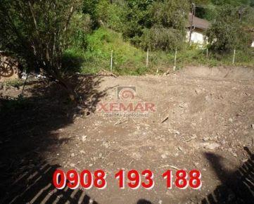 Na predaj stavebný pozemok v obci Hodruša Hámre okres Žarnovica