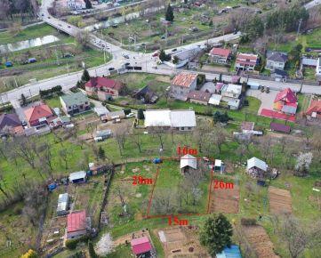 Na predaj pozemok v záhradkarskej oblasti s chatkou- Šidlovec, Prešov. 035-14-SHU