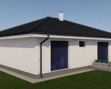 Kvalitný 4-izbový bungalov s atypickými prvkami v interiéri
