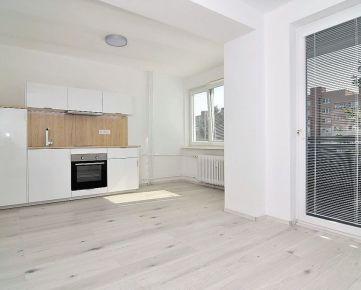 Príjemný a slnečný 1 izbový byt s lodžiou v Rači pod lesom po celkovej rekonštrukcii.