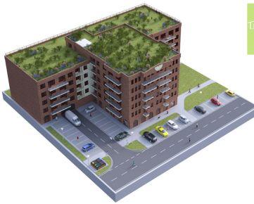 BYTY LUŽNÁ PREDAJ, 2-izby, výmera od 60,64 m2, CENA od 149.645,-€, Začiatok Petržalky, NOVOSTAVBA