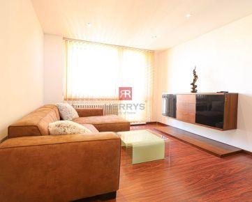 HERRYS - Na prenájom kompletne zariadený 3 izbový byt s 2 loggiami s krásnym výhľadom na Kramároch