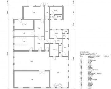Rezervované – Budova na ubytovňu 289 m2, pozemok 919 m2, Holíč