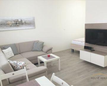 Prenájom 1,5 izbový byt s garážou, NOVOSTAVBA, Lužná ulica, BA V. Petržalka