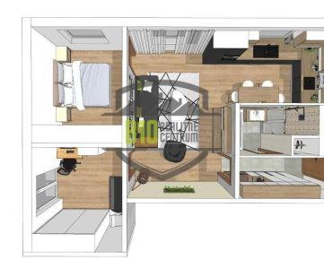 3 izbový byt  - TOP lokalita -  2 balkóny