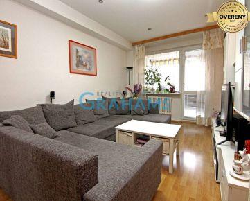 GRAHAMS-PREDAJ, priestranný 3 izbový byt, Nobelova, Nové Mesto