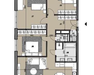 4i byt s výhľadom Zelené Vlčince /C.401