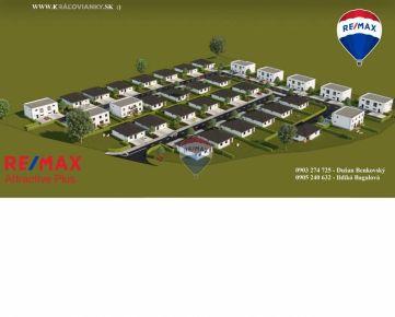 Na predaj : PRVÁ ETAPA V PREDAJI - Projekt Královianky - Rodinné Domy