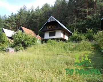 Rozostavaná rekreačná chata, obec Malachov, okres Banská Bystrica