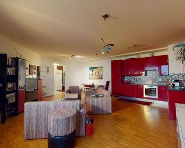 VIRTUÁLNA P. 3iz byt s rozlohou 109m2 a krásnym výhľadom na Bratislavu