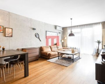 Na predaj výnimočný 2 izbový byt v projekte TatraCity na začiatku Petržalky