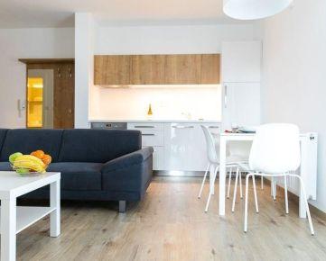 Na prenájom 2-izbový zariadený byt v novostavbe