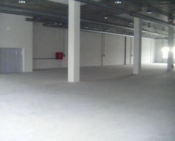 3,50 Euro/m2/mesiac - Prenájom skladov. priestorov 865 m2, NOVOSTAVBA