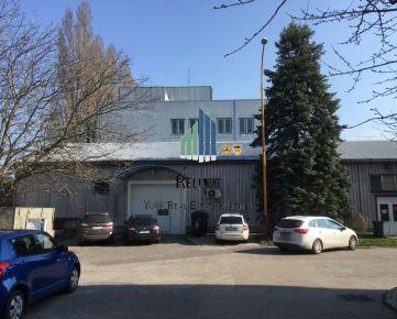 BA III Rača Púchovská  prenájom skladovo-administratívno-výrobnej budovy o úžitkovej ploche 980 m2.