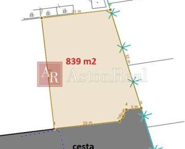 Lukratívny stavebný pozemok - Vysoké Tatry - Veľká Lomnica 839 m2