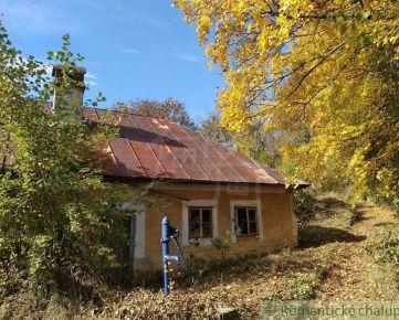 Kopaničiarska chalupa na terasovitom pozemku v Priepasnom na predaj.