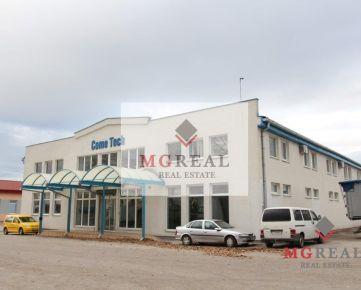 V Trnave-Modranka  na prenájom 2850 m² výrobno-skladový objekt vhodný na čistú prevádzku