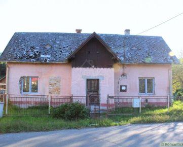Domček so začatou rekonštrukciou blízko mesta Humenné- Kamienka