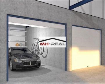 rezervovane predaj garáž v novostavbe v Podlaviciach