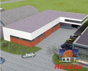 Výrobno skladový areál v Nitre na prenájom (projekt)