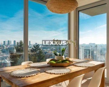 LEXXUS - PRENÁJOM 3i byt s EXKLUZÍVNYM výhľadom, BA I, Vlčkova ul.,116 m2