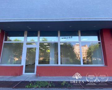 REZEROVANÉ - DELTA | Obchodný priestor na prenájom, Petržalka - Strečnianska, 158 m2