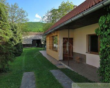 Dom s chalupou ako oáza pokoja v obci Silická Jablonica