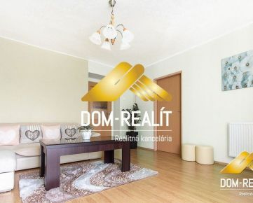 DOM-REALÍT a veľký slnečný 2-izbový byt na Staničnej ulici v Nitre